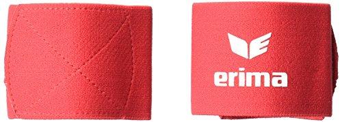 Erima Guard Stays 24 Paar Schienbeinschoner, rot, Einheitsgrösse