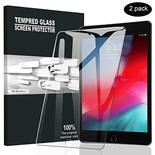 [2 Pack] AVIDET for iPad Mini 5 Screen Protector,[Anti-Scratch][Bubble Free]9H Hardness 0.3mm...