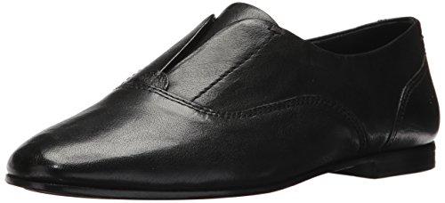 FRYE Women's Terri Slip-On Loafer, Black, 9 M US