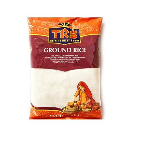 TRS Farina di riso bianco (riso macinato) sacchetto da 1,5 kg – perfetto per piatti dolci e salati, senza conservanti o additivi, ideale sostituto della farina di frumento, senza glutine (GF)