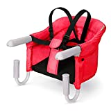 VEEYOO Hook On High Chair - Portable Folding Baby Hook On Seat , Easy Clip-on