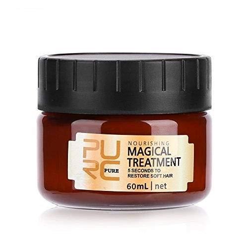 60ml Máscara Mágica para el Cabello Tratamiento Nutritivo Suave y Suave Reparación...