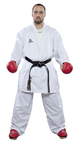 Hayashi Kumite Offizielles Wkf Kimono Karateanzug, Uni, 025, weiß, 140 cm