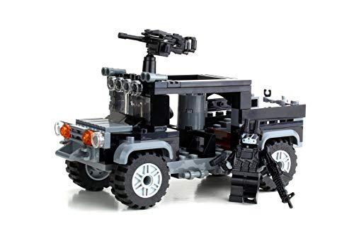 Battle Brick Special Forces Black Operations Truck Custom Set