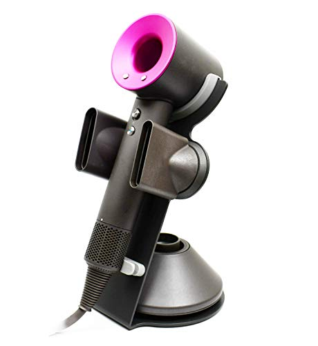 Hair Dryer Stand for Dyson Hair Dryer, Compatible Dyson Hair Dryer Stand hair dryer stand Organizer for Dyson Hair Dryer, Diffuser, Nozzle holder
