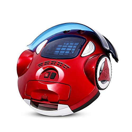 Review BYBYC Robotic Vacuum Cleaner with High Suction, LCD Display, Multi-Task Schedule, Path Mode f...