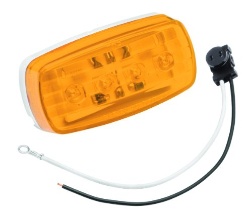 Bargman Side Marker Clearance Light LED #58 Amber with Pigtail (47-58-032) -  Horizon Global Corporation