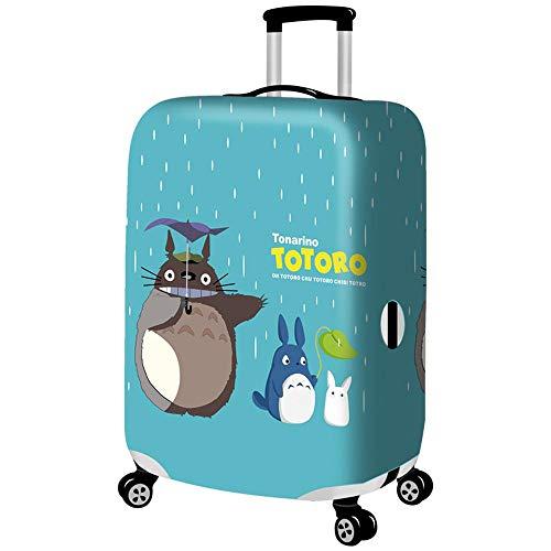 Maleta Estuche protector Cubierta de polvo para equipaje Impresión Animal Más grueso A prueba de polvo Elástico Viajar Caja de la carretilla Funda de maleta B-M(22-24 Inch)