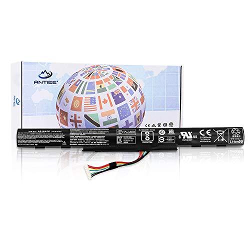 ANTIEE AS16A5K Laptop Batteria per Acer Aspire E15 E5-475G 523G 553G 573G 575G 774G E5-575 E5-575-59QB Series Notebook AS16A7K AS16A8K 14.8V 2650mAh 4-Cell