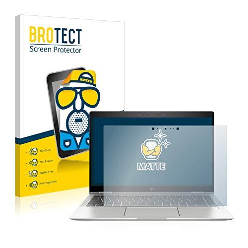 BROTECT Entspiegelungs-Schutzfolie kompatibel mit HP Elitebook x360 1040 G6 Bildschirmschutz-Folie Matt, Anti-Reflex, Anti-Fingerprint