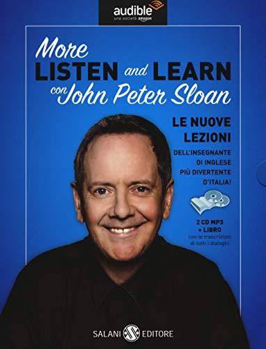 More listen and learn. Audiolibro. 2 CD Audio formato MP3. Con Libro in brossura