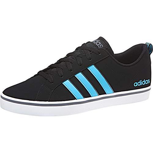 adidas Vs Pace, Zapatillas de Gimnasia para Hombre, Negro (Core Black/Bright Cyan/Onix), 39 1/3 EU