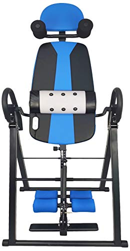 BalanceFrom FoldableHeavy Duty 300 lbs CapacityInversion Table with Removable Shoulder Rest and Lumbar Support
