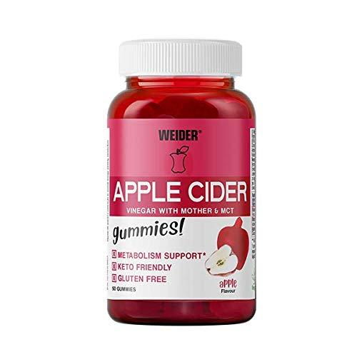 Weider Apple Cider Vinegar Gummies, 320 g