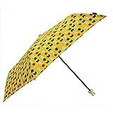 miffy(ミッフィー) 折りたたみ傘 手開き 総柄 折ミニ傘 イエロー 55cm