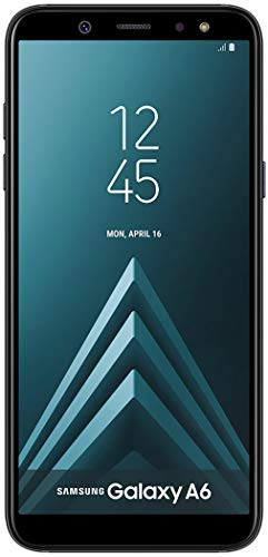Samsung Galaxy A6 32GB Factory Unlocked Phone - 5.6' - Black (Renewed)