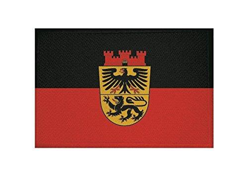 U24 Aufnäher Düren Fahne Flagge Aufbügler Patch 9 x 6 cm