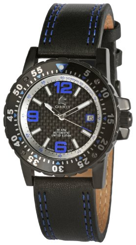 Carucci Herren-Armbanduhr Automatik CA2184BL