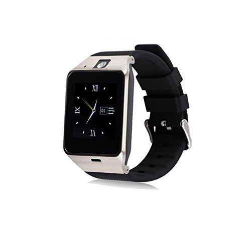 Generic GV18 Bluetooth-Smartwatch, unterstützt SIM-Karten und TF-Karte, MP3, Synchronisierungsnotifier, für iOS und Android OS