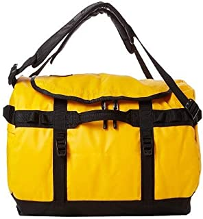 The North Face unisex Base Camp Duffel - S, Sumit Gold/Tnf Black, One Size