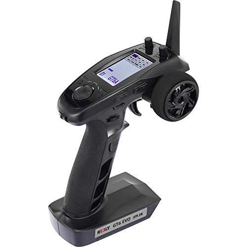Reely GT6 EVO Pistolengriff-Fernsteuerung 2,4 GHz Anzahl Kanäle: 6 inkl. Empfänger