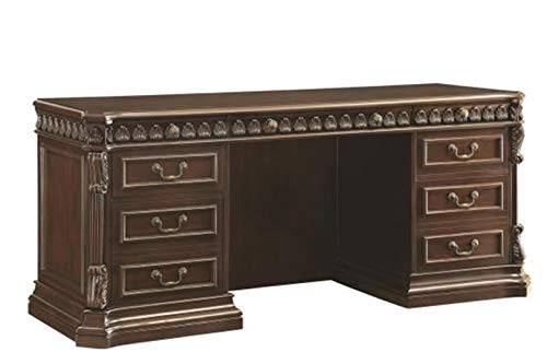 Tucker-Double-Pedestal-Credenza-Desk-Rich-Brown