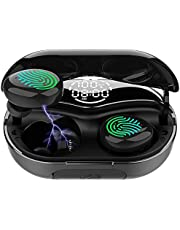 Bluetooth 5.0 Wireless Earbuds Bluetooth Headphones with Charging Case IPX8 Waterproof Deep Bass Noise Cancelling Technology for Sports