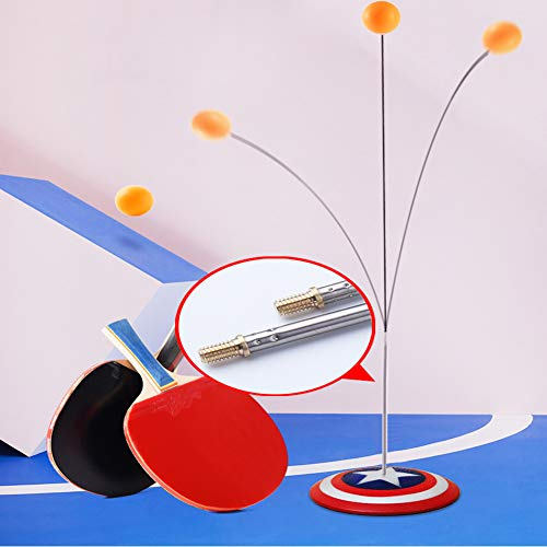 Lowest Price! XUE Elastic Soft Shaft Table Tennis Trainer Without Table Sport Leisure Decompression ...