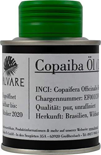 Copaiba Öl - 100ml - Wildsammlung - Pur - Unraffiniert - Beste Qualität