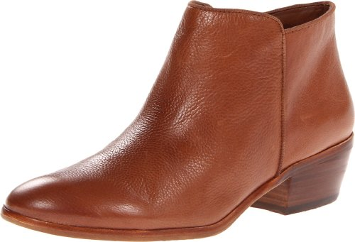 Sam Edelman Women's Petty Leather Boot,Saddle Leather,4 M US