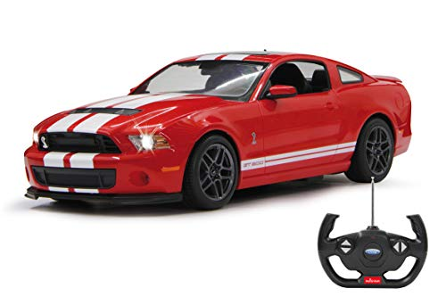 Jamara Ford Shelby GT 500 Deluxe Voiture 40 MHz 1/14 Rouge