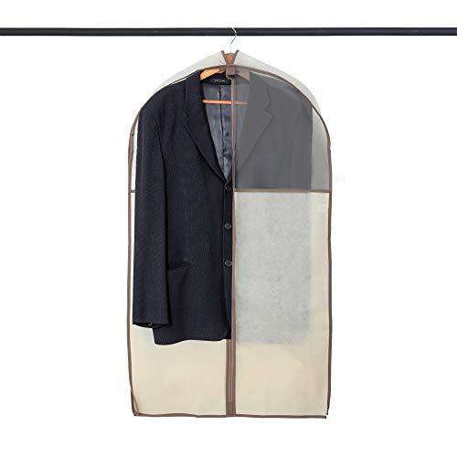 Smart Design Pro-Mart DAZZ Kleidersack mit amerikanischem Aroma-Zeder Anzug 24 x 42 Inch beige