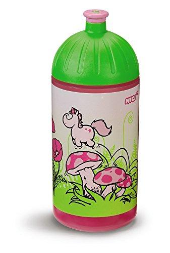 NICI Trinkflasche, Kunststoff, bunt, 7.5 x 7.5 x 20 cm