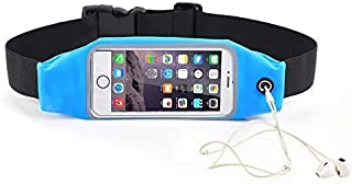 Jinning Running Fanny Packs | Waterproof Adjustable Reflective Touch Screen Fanny Packs for iPhone X Xs 8Plus 7 6S Plus Samsung Galaxy S9 S8 S7 | Waist Pack for Running Biking Fitness