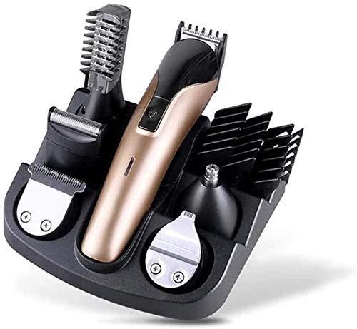 Pelo tijeras de corte de la herramienta profesional de pelo Clippers inalámbricos corte de pelo del pelo del hogar Clipper pelo Trimmer 11 en 1 inalámbrico cortadora de cabello eléctrica Fácil de usar