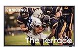 SAMSUNG 55-inch Class QLED The Terrace Outdoor TV - 4K UHD Direct Full Array 16X Quantum HDR 32X Smart TV with Alexa Built-in (QN55LST7TAFXZA, 2020 Model) , Black