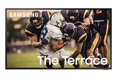SAMSUNG 55-inch Class QLED The Terrace Outdoor TV - 4K UHD Direct Full Array 16X Quantum HDR 32X Smart TV with Alexa Built-in (QN55LST7TAFXZA, 2020 Model)