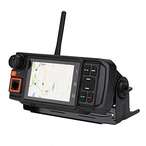 Autoradio Android, Radio réseau 4G-W2plus LTE pour Android 7.0 Radio Mobile Intelligente Radio réseau de Communication Globale GPS avec Microphone de Poche