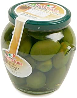 Green Bella di Cerignola Olives in Glass Jar (13 ounce)