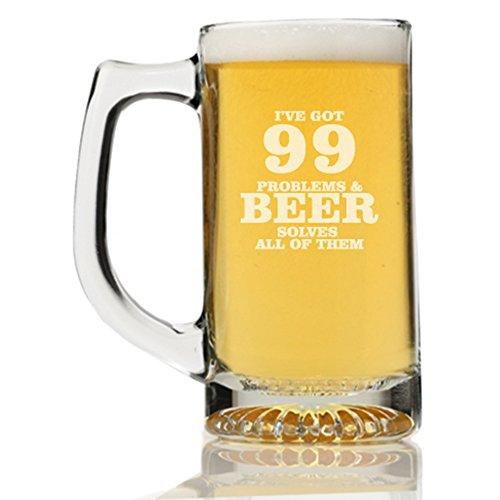 I've Got 99 Problems And Beer Solves All Of Them Beer Mug