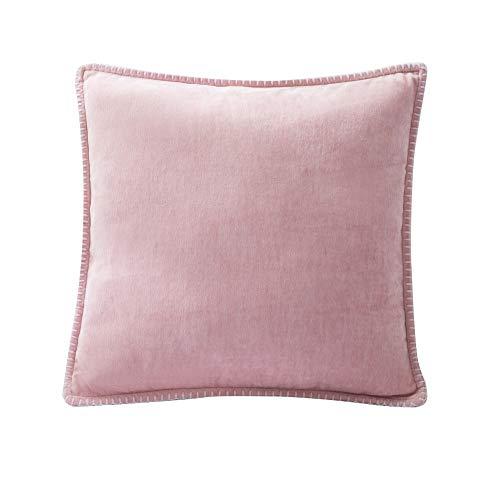 Bebliss Chenille kussensloop, linnen, gevulde randen op maat decoratieve kussenhoes voor bank bed woonkamer
