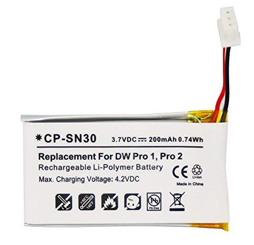 504374 Battery Replacement for SENNHEISER OfficeRunner DW Office DW Pro 1 DW Pro 2 SD Series Wireless Headset 504374 BATT-03