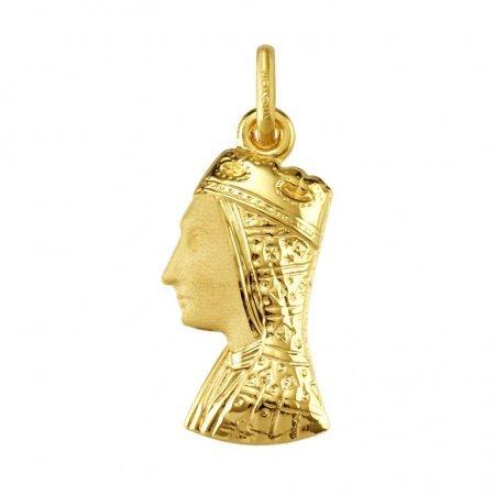 Blanco MONTSERRAT-Anhänger-Religiöse Gold 18 Karat-Höhe: 22 mm, www.diamants-perles.com