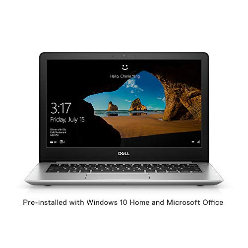 Dell Inspiron 5370 13.3-inch FHD Laptop (Core i7-8550U/8GB/256GB/Windows 10 + MS Office/2GB...