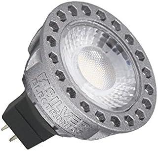 Silver Electronics LED Compact Dicroica, GU5.3, 8 Watts, Gris W