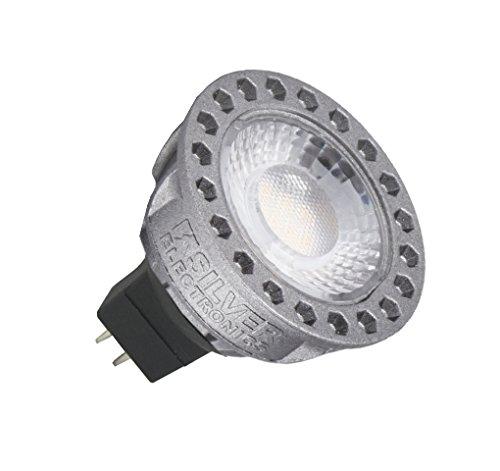 Silver Electronics LED Compact Dicroica GU5.3, 8 W, Gris, 3 x 5 x 5.2 cm