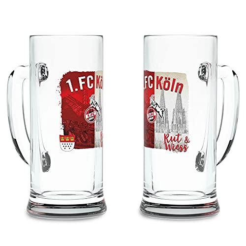 1. FC Köln Bierkrug Rut un Wiess