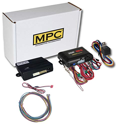 MPC Factory Remote Activated Remote Starter for 1999-2002 Chevrolet Silverado |Gas| Key-to-Start| Press Lock 3X