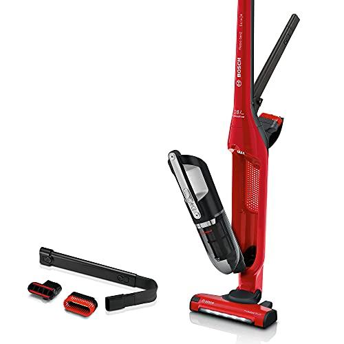 Bosch Serie   4 Flexoo'o Gen 2 Aspirador Vertical sin Cable, 25.2 W, 0.4 litros, 82 Decibeles, 2 Velocidades, Rojo