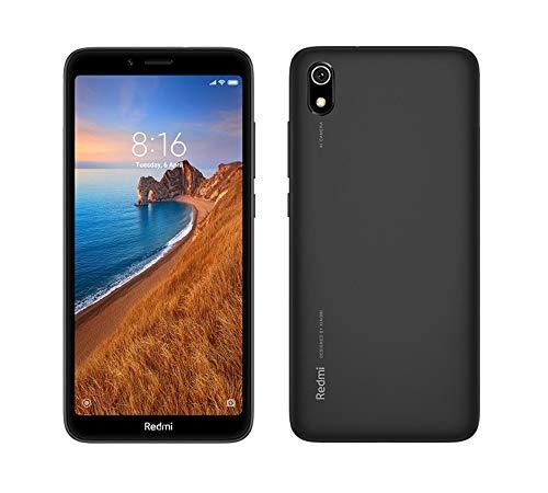 """Xiaomi - Smartphone Redmi 7A - SD439 Quad Core - 2GB - 16GB - Pantalla 5,45"""" HD+ - CAM 13mpx - Bat 4000mAh - Android 9 - Negro"""